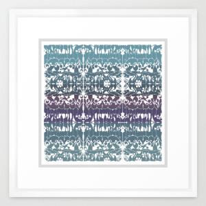 Mirror of Style_FRAMED ART PRINT_VECTOR WHITE MEDIUM (GALLERY) (22 X 22)