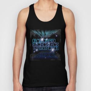 Unlimited Dimensions Department_UNISEX TANK TOP_BLACK